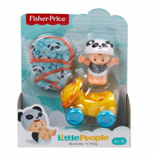 Fisher-Price® Little People Bundle n Play Panda Toy Set Perspective: front
