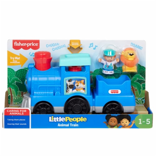 Fisher Price Little People Animal Train Set Perspective: front