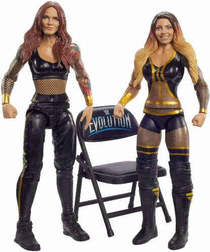 WWE Lita & Trish Stratus Battle Pack 2-Pack Perspective: front