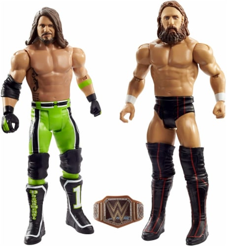 WWE Daniel Bryan vs AJ Styles Battle Pack 2-Pack Perspective: front
