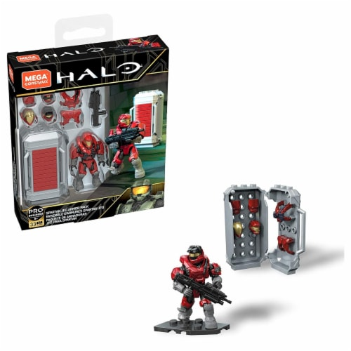 Mega Construx™ Halo Master Chief Overshield Power Pack Perspective: front