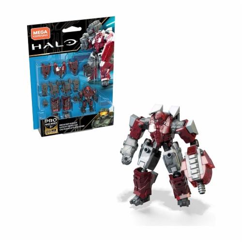 Mega Construx Halo Pro Builders Breacher Exosuit Figure Set Perspective: front