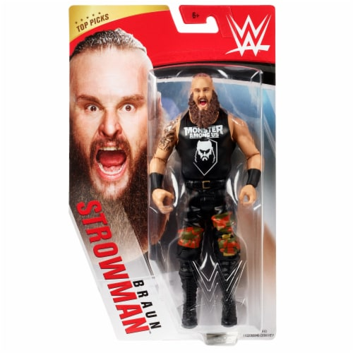Mattel WWE Braun Strowman Action Figure Perspective: front