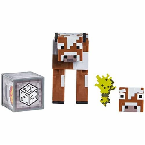 Minecraft Earth Cow Figure Perspective: front