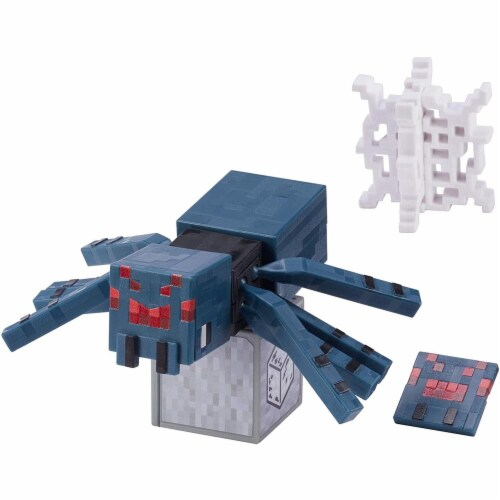 Minecraft Earth Cave Spider Figure Perspective: front