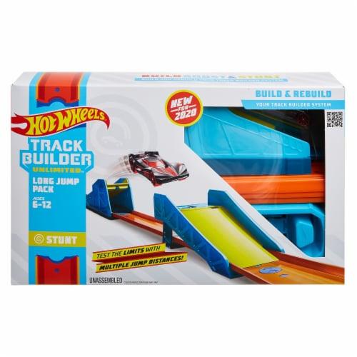Mattel Hot Wheels® Track Builder Unlimited Adjustable Long Jump Pack Perspective: front