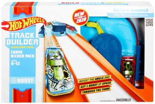 Mattel Hot Wheels® Track Builder Unlimited Curve Kicker Pack Perspective: front