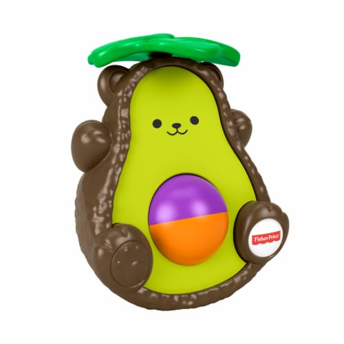Fisher-Price® Avocado Bat-at Bear Perspective: front