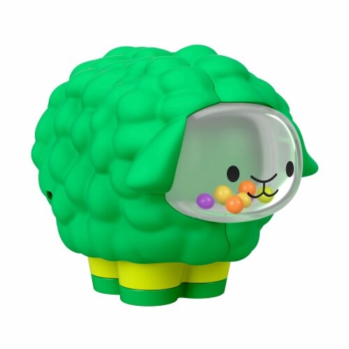 Fisher-Price Broccoli Squeaker Sheep Perspective: front
