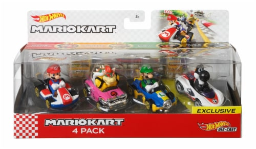 Mattel Hot Wheels® Mario Kart Bundle Perspective: front