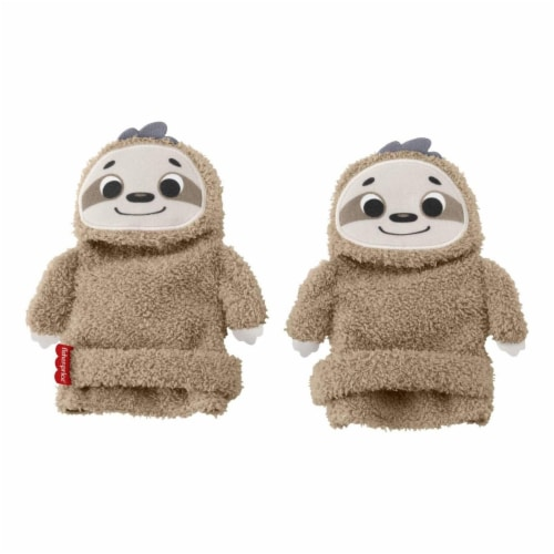 Fisher Price Sloth Activity Socks Perspective: front