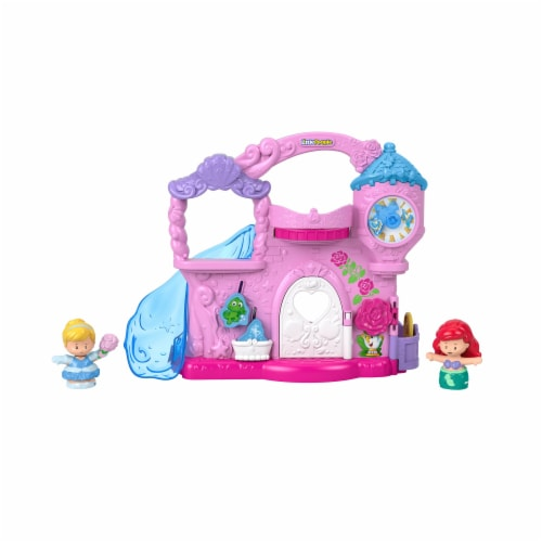 Fisher-Price® Disney Princess Little People Play and Go Castle Playset Perspective: front