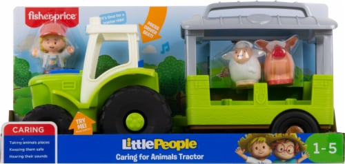 Fisher-Price® Little People Caring for Animals Tractor Perspective: front