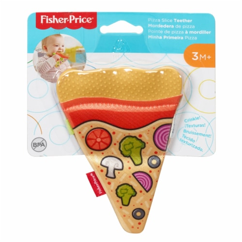 Fisher-Price® Pizza Teether Perspective: front