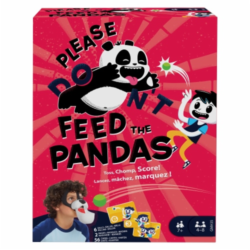 Mattel Please Feed the Pandas Game Perspective: front