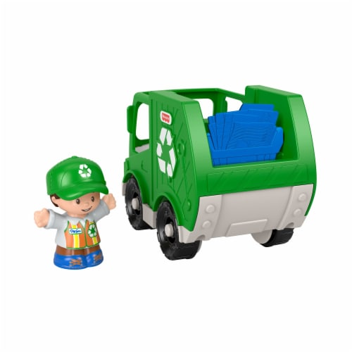 Fisher-Price Little People Recycle Truck Perspective: front