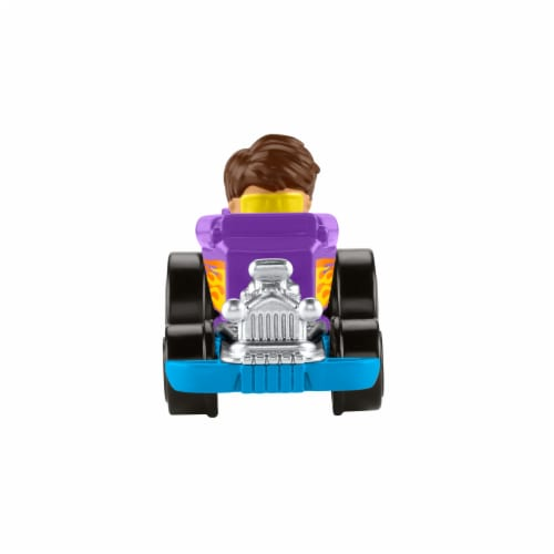 Fisher-Price® Little People Wheelies Hot Rod Vehicle Perspective: front