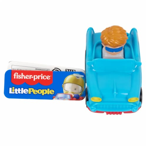Fisher-Price® Little People Wheelies Retro Convertible Vehicle Perspective: front
