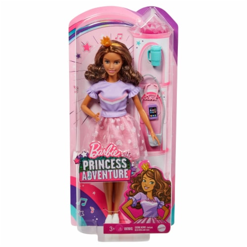 Mattel Barbie® Princess Adventure Doll Perspective: front
