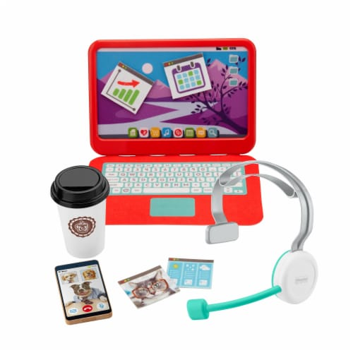 Fisher-Price® My Home Office Playset Perspective: front