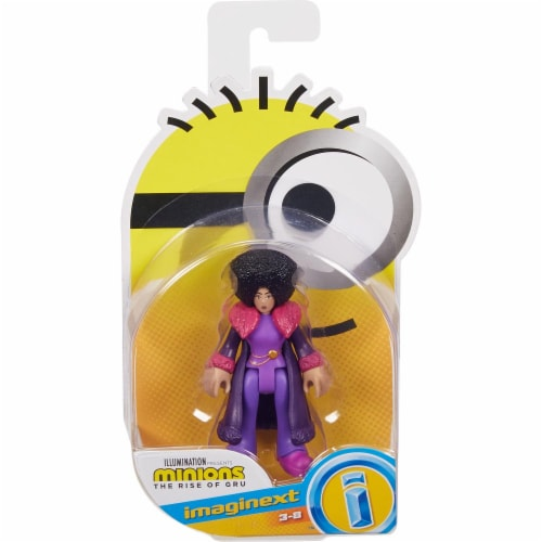 Fisher Price Despicable Me Minions: Rise of Gru Imaginext Belle Bottom Mini Figure Perspective: front