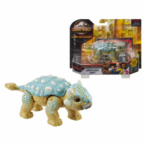 Jurassic World Attack Pack Dino Figure Perspective: front