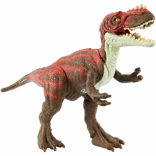 Jurassic World Attack Pack Alioramus Figure Perspective: front