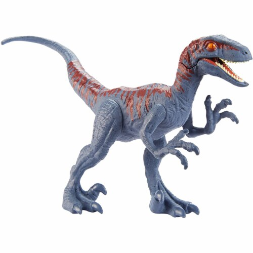 Jurassic World Attack Pack Velociraptor Figure Perspective: front