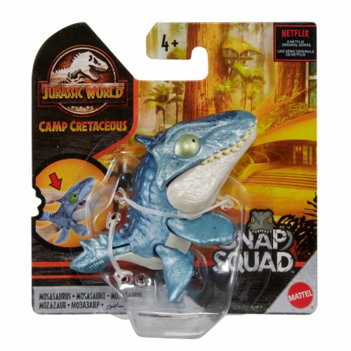 Mattel Jurassic World Snap Squad Carnotaurus Dinosaur Toy Perspective: front