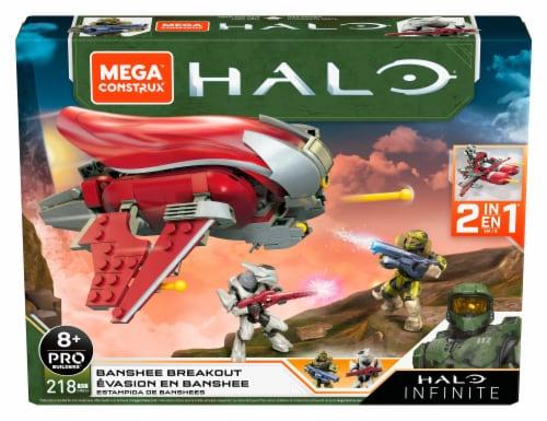 Mega Construx™ Halo Infinite Banshee Breakout Building Set Perspective: front