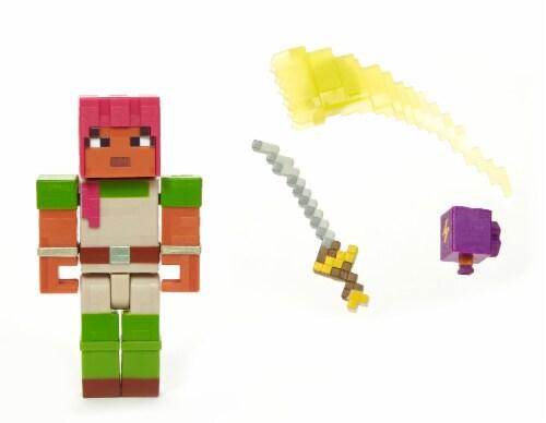 Mattel Minecraft Dungeons 325 Hedwig Figure Perspective: front