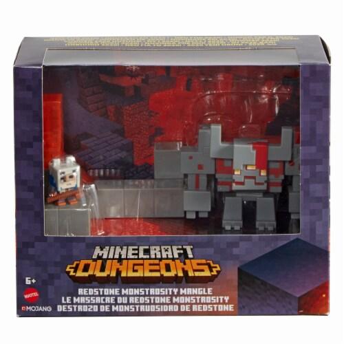 Mattel Minecraft Dungeon Mini Battle Box Perspective: front
