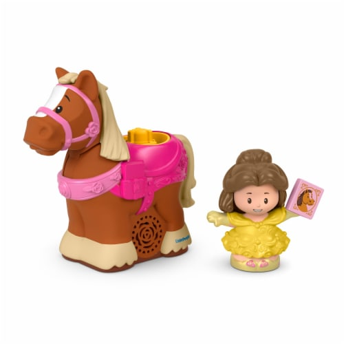 Fisher-Price® Disney Little People Belle and Philippe Figures Perspective: front
