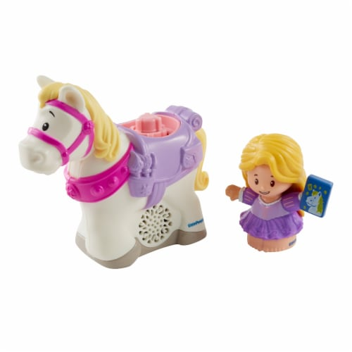 Fisher-Price® Little People Disney Princess Rapunzel and Maximus Playset Perspective: front