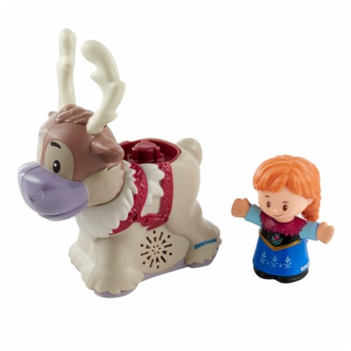 Fisher-Price® Disney Little People Anna and Sven Figures Perspective: front