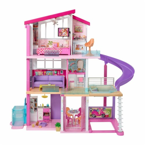 Mattel Barbie Dreamhouse New Elevator Playset Perspective: front