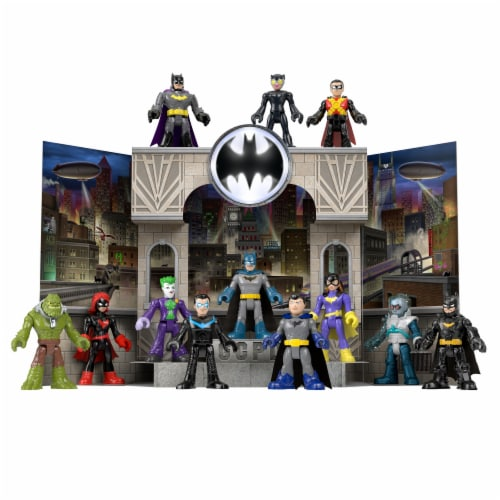 Fisher-Price Imaginext DC Super Friends Gotham City Pop-Up Playset Perspective: front