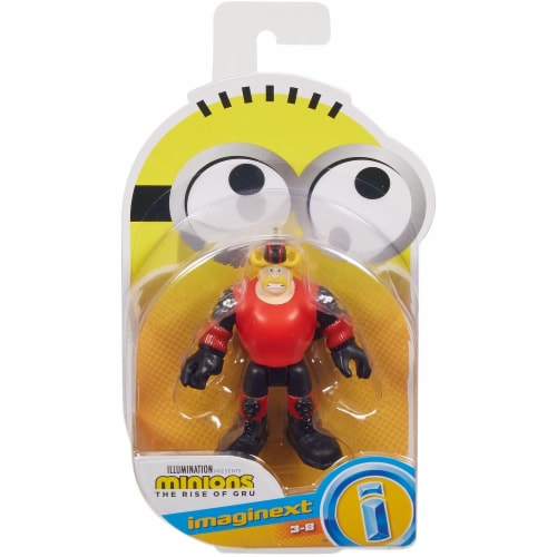 Fisher Price Despicable Me Minions: Rise of Gru Imaginext Svengence Mini Figure Perspective: front