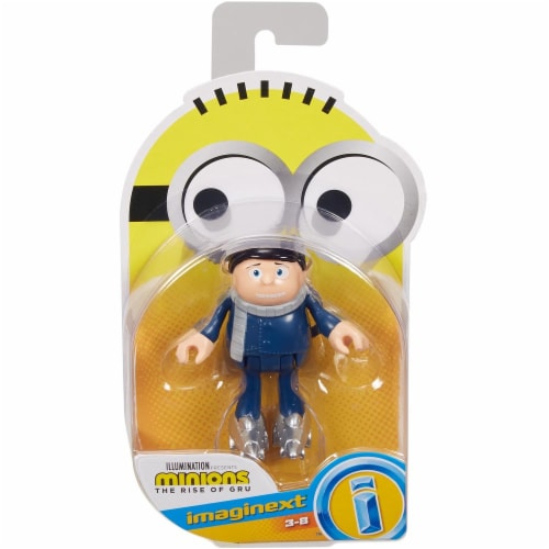 Fisher Price Despicable Me Minions: Rise of Gru Imaginext Gru Mini Figure Perspective: front