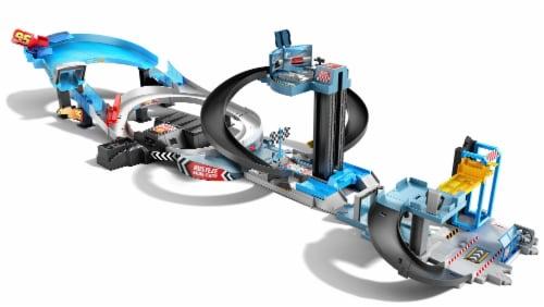 Mattel Disney Pixar Cars Rusteze Double Circuit Speedway Perspective: front