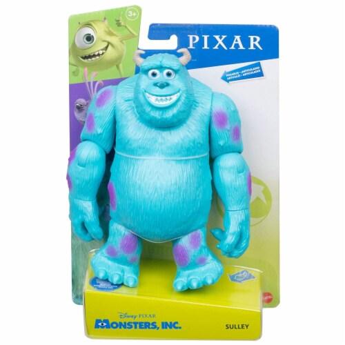 Mattel Disney Pixar Monsters Inc. Sulley Action Figure Perspective: front