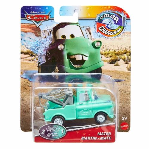 Mattel Disney Pixar Cars Mater Color Changers Car Perspective: front