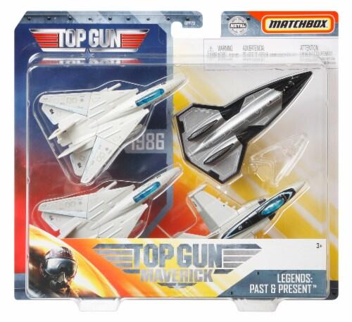 Mattel Matchbox® Top Gun Maverick Aircraft Set Perspective: front
