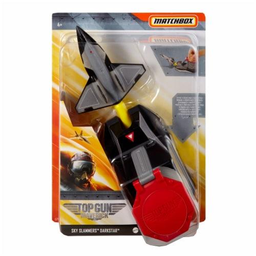 Mattel Matchbox® Sky Slammers Top Gun Maverick DarkStar Perspective: front