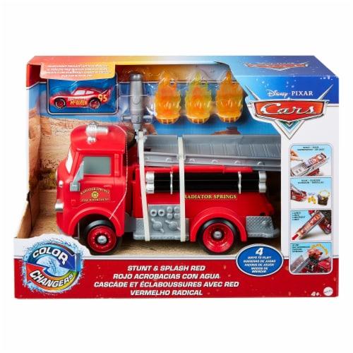 Mattel Disney Pixar Cars Stunt Splash Vehicle - Red Perspective: front