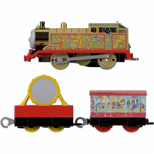 Thomas and Friends Golden Thomas Motorized Train Perspective: front