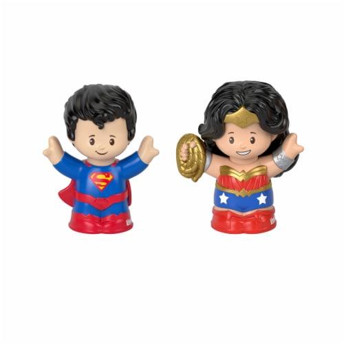 Mattel DC Figures 2 Pack Perspective: front