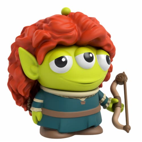 Mattel Disney Pixar Alien Remix Merida Figure Perspective: front
