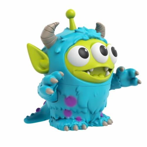 Mattel Disney Pixar Alien Remix Sulley Figure Perspective: front