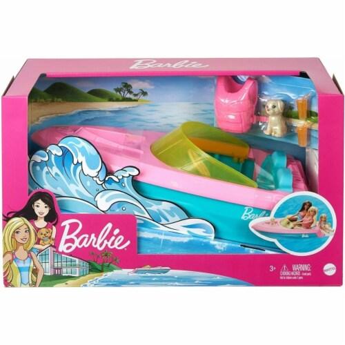 Mattel Barbie Boat Doll Perspective: front